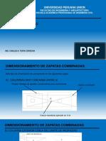 Diseño Zapatas Combinadas Final