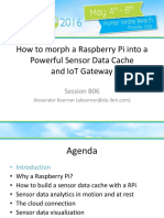 IIUG Alexander Koerner Raspberry Pi a Sensor Data Cache and IoT Gateway 2016 05
