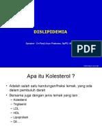 Koas Ukrida-Manajemen Dilipidemia Dr Panji 2016