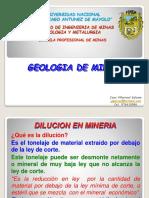 6.- Dilucion en Mineria