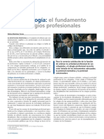 La Deontologia-el Fundamento de Los Colegios Profesionales