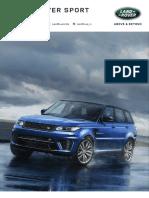 17MY Range Rover Sport HSE
