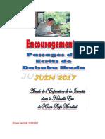 Encouragements Citations Ecrits de d. Ikeda. Juin 2017. PDF