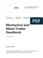 Mechanical and Metal Trades Handbook 20 pages