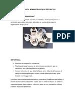 Adqusicion Administracion de Proyectos