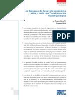 Enfoques de Desarrollo en America Latina