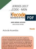 Acuerdos 2017 Fecode Men