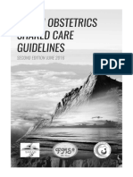 Sabah Obstetrics Shared Care Guidelines 2nd Edition 2016