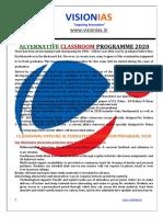 2020 10april-24june Alternative Classroom Program Updated
