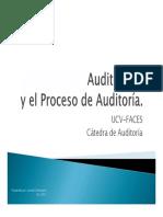 Auditoría III y El Proceso de Auditoría