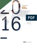 Memoria Reporte Integrado Sk 2016