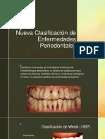 Nueva Clasificación de enfermedades periodontales