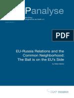Eu-russia and the Common Neighborhood