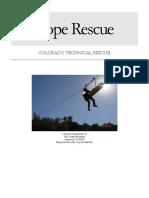 Rope Rescue.colorado Tech Rescue