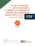 White Paper Estudio Fundacion Affinity Abandono Adopcion 2016 Es