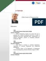 Curriculum Roberto Vainrub