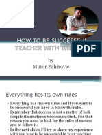 How to Be Successful Teacher With the Kids