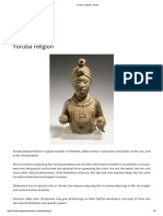 Yoruba Religion _ Ile