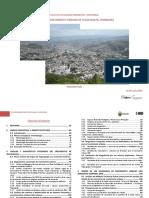 Estudio de Crecimiento Urbano Tegucigalpa