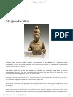 Diloggun Divination