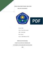 Laporan Praktikum Kimia Organik i Bab 2