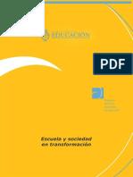 Pozner, Pilar. Escuela y sociedad en transformacion.pdf