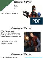 Cybernetic Warrior
