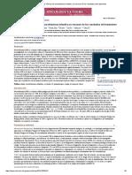 Características clínicas de neuroblastoma infantil y un resumen de los resultados del tratamiento