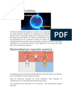 Electricidad Estática
