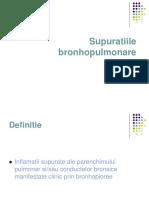Supuratiile-bronhopulmonare