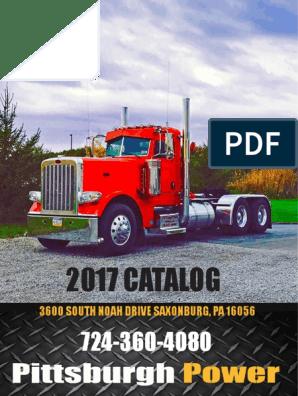 2017 Pittsburgh Power Catalog | Turbocharger | Internal