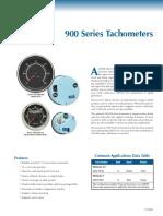 900 Series Tachometer