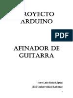 Proyecto - Afinador - Guitarra