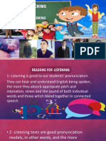 Teaching Listening Powerpoint