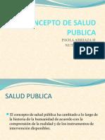 Concepto de Salud Publica 1