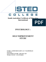 Psychology Self Improvement