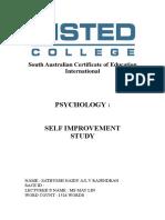 Psychology Self Improvement