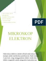 Kelompok 3 Mikroskop Elektron