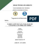Proyecto Tapa Para Base de Canastilla en Fibra de Vidrio