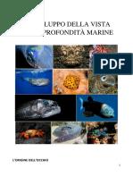 Lo Svilupo Della Vista Nelle Profondità Marine-testo Integrale