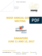 Wdsf Agm E-booklet 2017