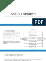 AnalizadorSintactico