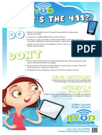 byod dos and donts poster-meagan