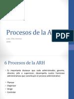Procesos de La ARH