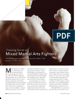 Training Secrets of Mixed Martial Arts Fighters