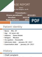 Case Dr Riki Ny Sri Yatin
