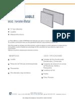 Filtro Metalico Lavable NAMM