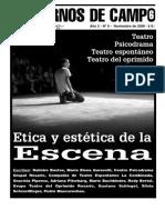 Revista Cuadernos de Campo. Teatro, Psicodrama, Teatro Espontáneo y Teatro Del Oprimido.