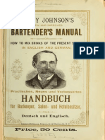 1882 Harry Johnson s New and Improved Bartender s Manual