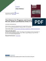 Leandro Benmergui - The alliance for progress.pdf